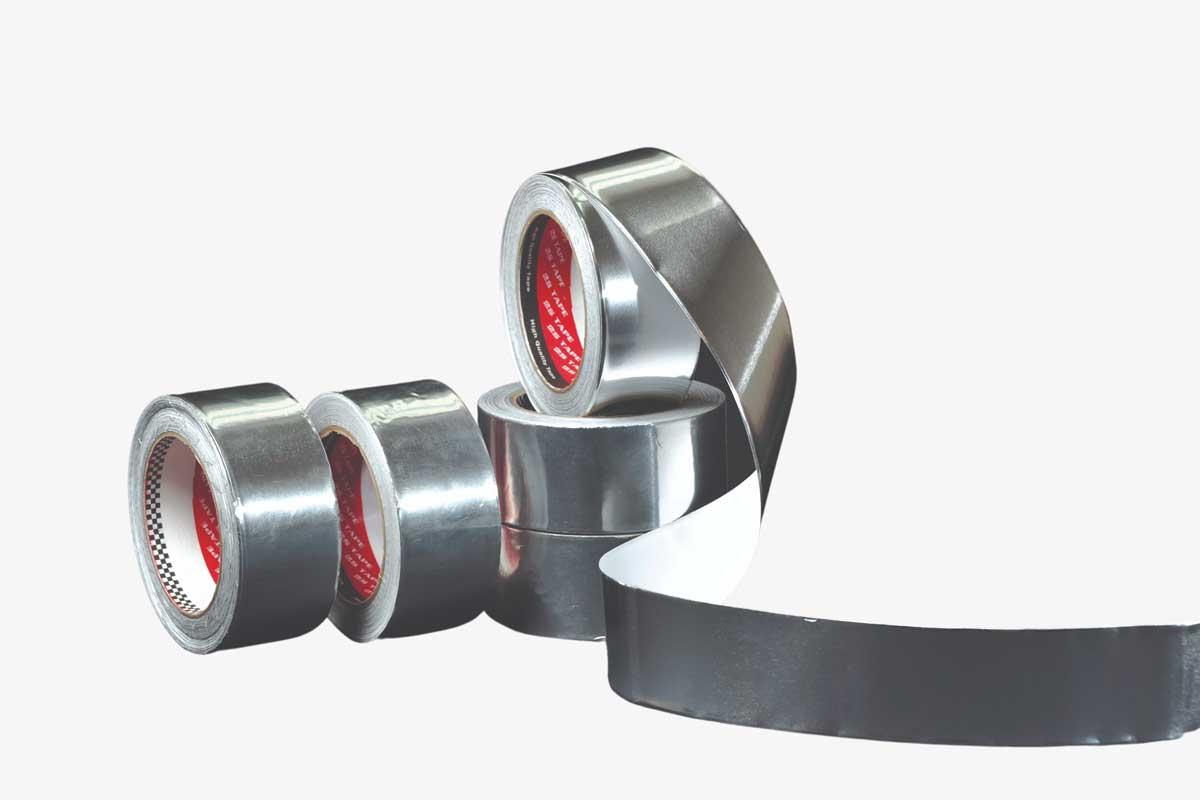 Aluminium Foil Tape | High Temperature Adhesive Tapes | 2S Packaging