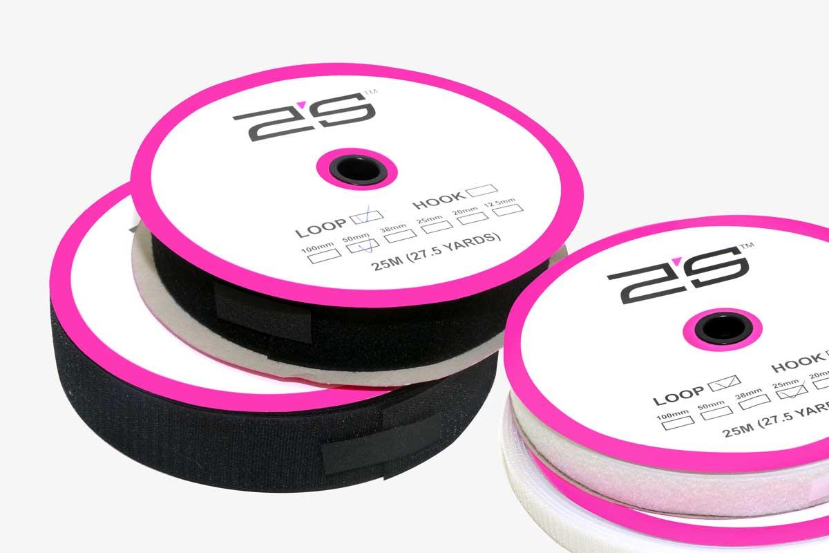 Hook and Loop Tapes | Self Adhesive Hook and Loop Fasteners | Hook and Loop Tapes | 2S Packaging