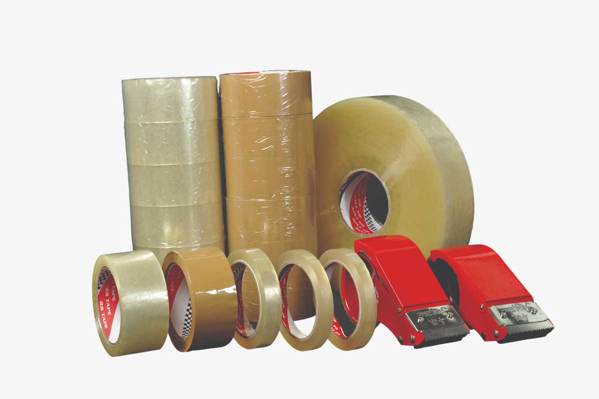 OPP Tape Supplier in Malaysia | OPP Clear / Brown Tape | 2S Packaging