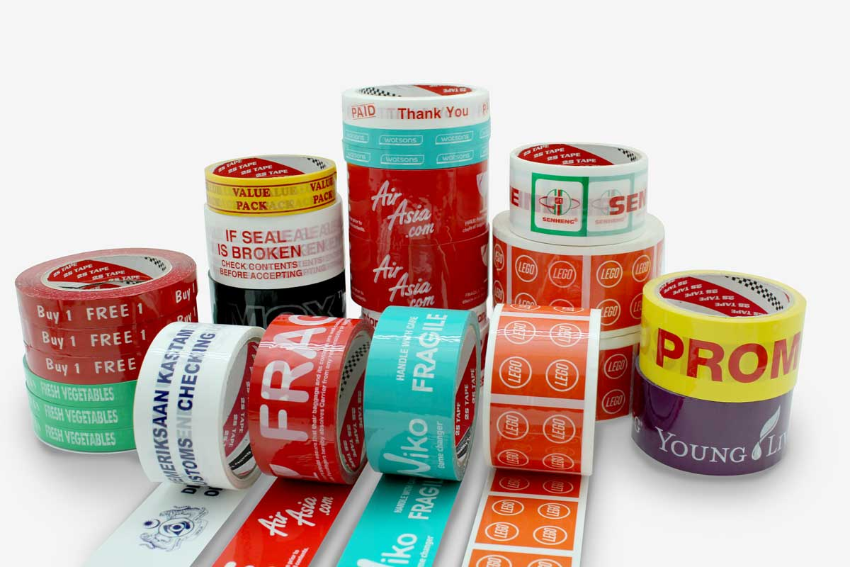 OPP Printed Tapes | OPP Tapes | 2S Packaging