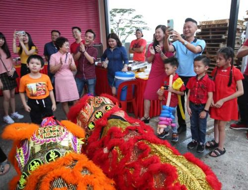 Chinese New Year Open House cum Family Day 2020